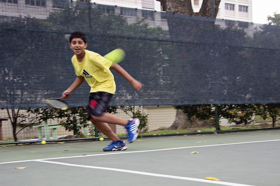 Vamos tennis